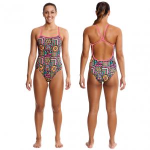 Купальник для спортивного плавания Funkita-aztec-princess-s-1