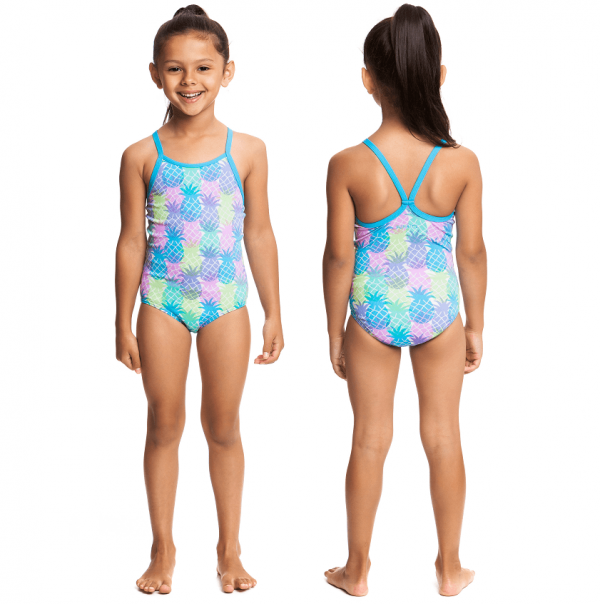Детский купальник для спортивного плавания Funkita-tooty-fruity-s-1