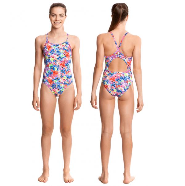 Детский купальник для спортивного плавания Funkita-pretty-petal-s-5