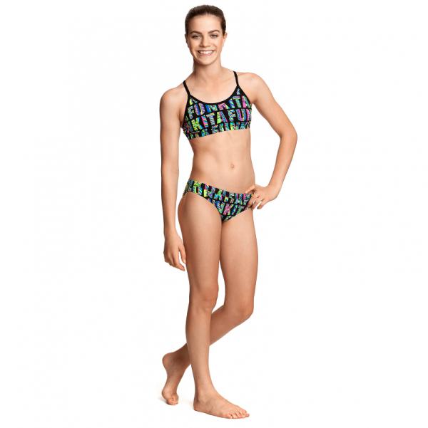Детский спортивный купальник FUNKITA-BRAND-STAND-S5
