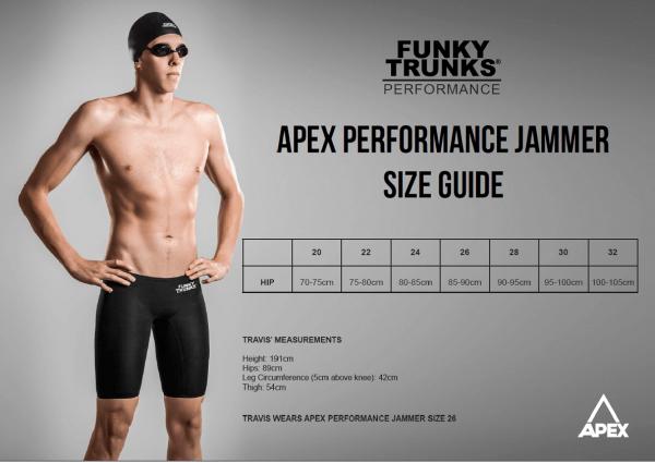 Funky Trunks APEX Performance Jammer still-black-4