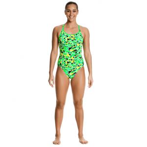 Спортивный купальник FUNKITA-FLURO-FLURO-FRACTURE-01