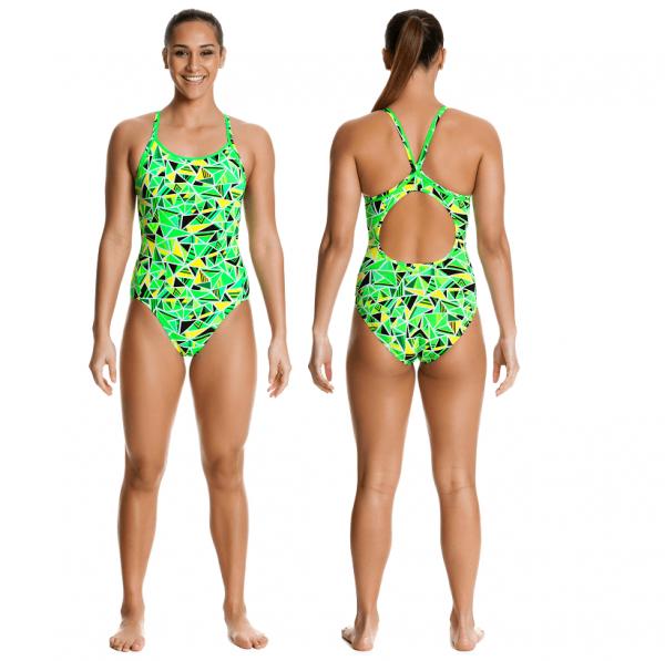 Спортивный купальник FUNKITA-FLURO-FRACTURE-05