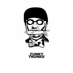 Футболка мужская FUNKY TRUNKS MAN-WITH-FISH-1