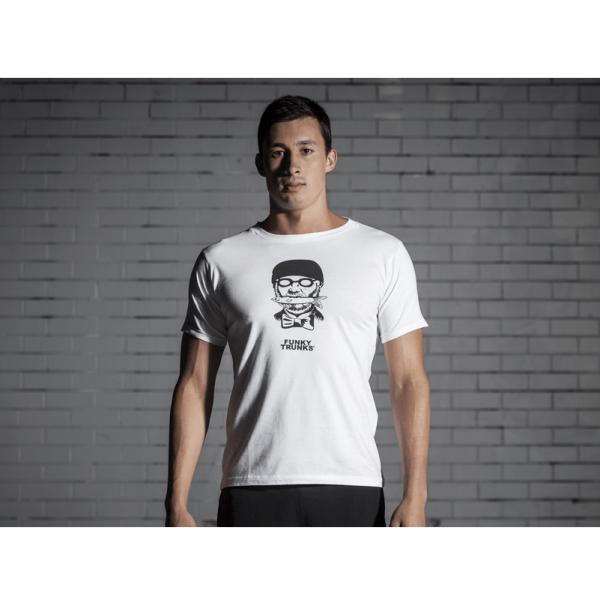 Футболка мужская FUNKY TRUNKS MAN-WITH-FISH-2