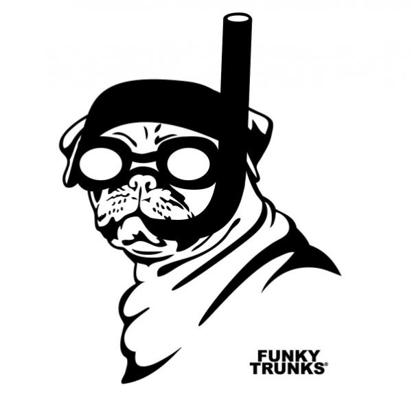 Футболка мужская FUNKY TRUNKS SNORKEL PUG-S1