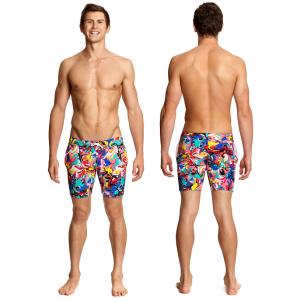 Шорты мужские пляжные FUNKY TRUNKS-SPLATTERFIED-S-5