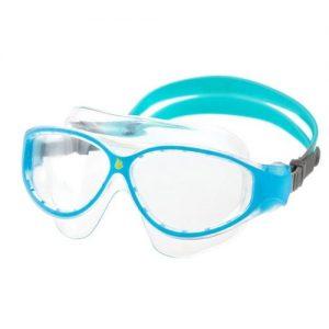MADWAVE Flame Mask Junior_blue Очки для плавания детские