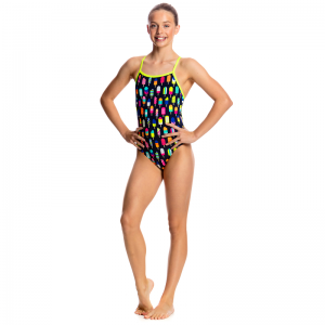 FUNKITA Frosty Fruits Tie Me Tight Купальник детский