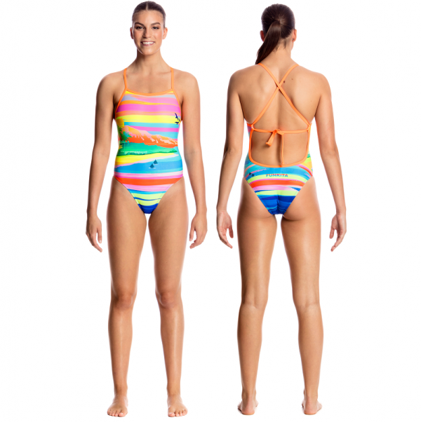 FUNKITA Pina Colada Tie Me Tight Купальник