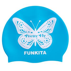 FUNKITA Pretty Fly Blue Шапочка для плавания в бассейне
