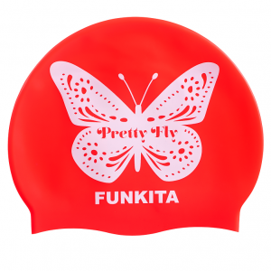 FUNKITA Pretty Fly Pink Шапочка для плавания в бассейн