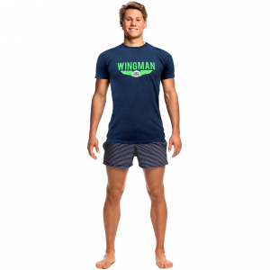 FUNKY TRUNKS NAVY WINGMAN
