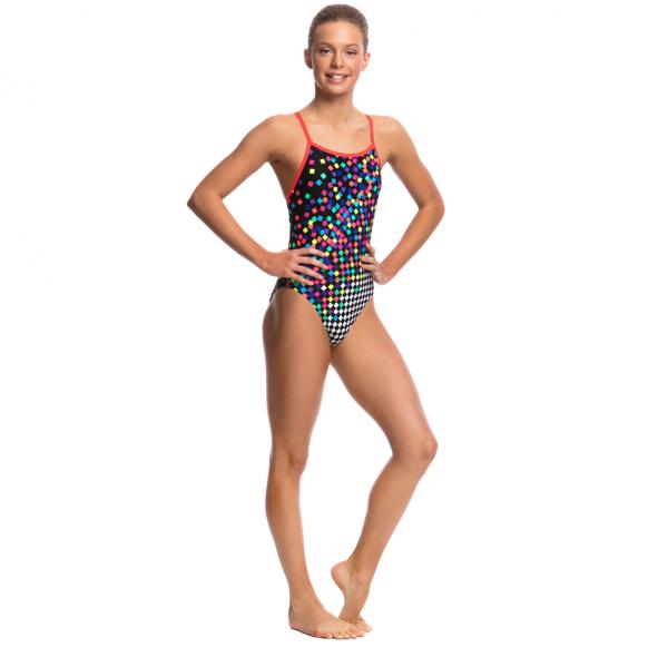 FUNKITA SCATTER BRAIN Детский спортивный купальник для бассейна