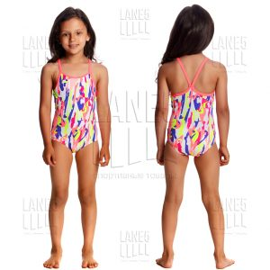 FUNKITA HEART SPLATTER Детский купальник