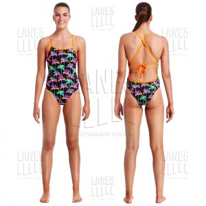 FUNKITA PALM DRIVE TIE ME TIGHT Купальник для бассейна