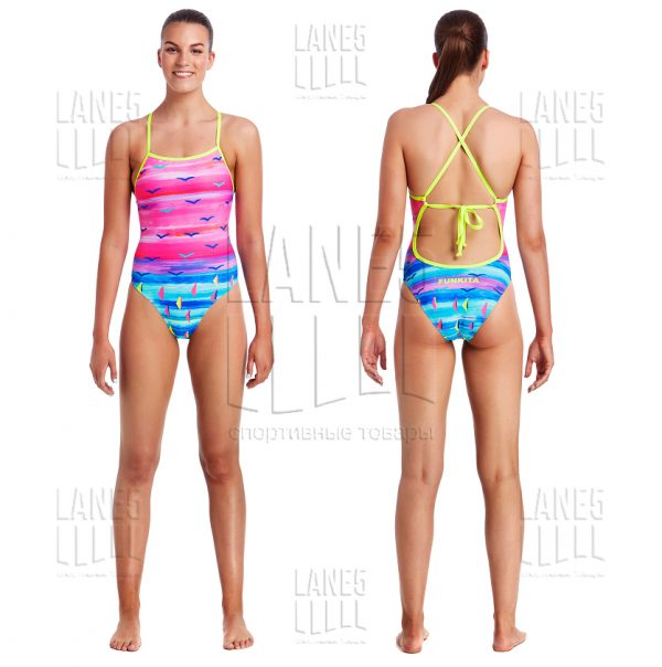 FUNKITA REGATTA ROYALE TIE ME TIGHT Купальник для бассейна