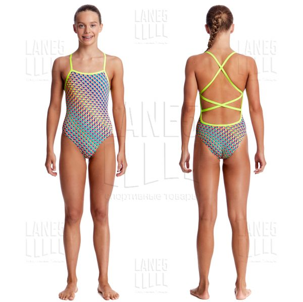 FUNKITA GLITTER GIRL Strapped Купальник для бассейна