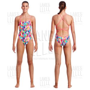 FUNKITA PASTEL PATCH STRAPPED Купальник для бассейна