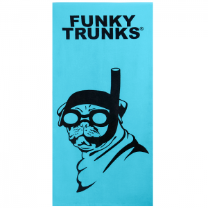 FUNKY_TRUNKS_SNORKEL_PUG_Полотенце для бассейна