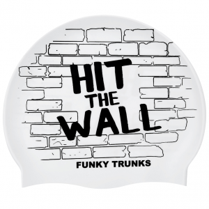 FUNKY_TRUNKS_HIT_THE_WALL Шапочка для плавания