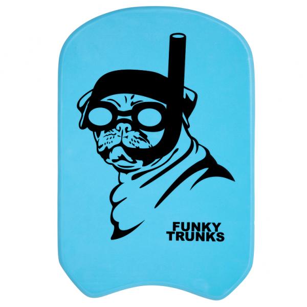 FUNKY TRUNKS SNORKEL PUG KICKBOARD Доска для плавания