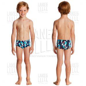 FUNKY TRUNKS PENGOO PARADE Плавки для бассейна детские