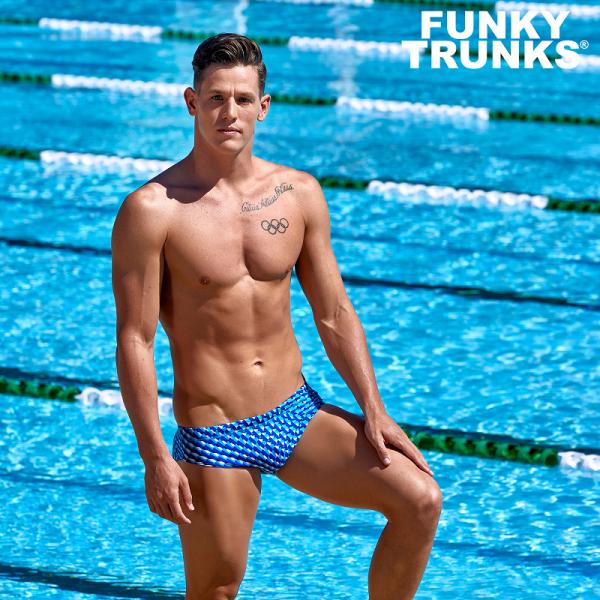 FUNKY TRUNKS VAPOUR SCALE Плавки спортивные для бассейна