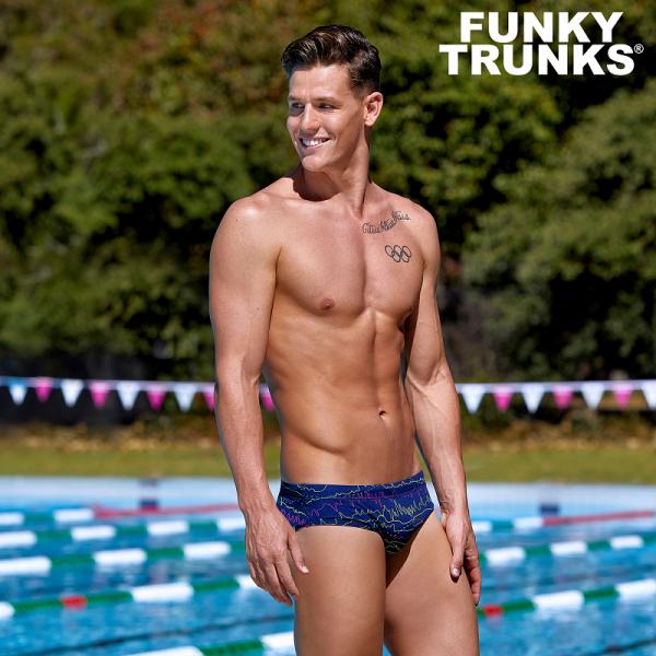 FUNKY TRUNKS SOUND SYSTEM Плавки спортивные для бассейна
