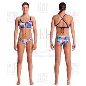 FUNKITA Alba Wild Tie Bikini Купальник для бассейна