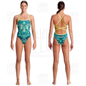 FUNKITA WEAR WOLF STRAPPED Купальник для бассейна