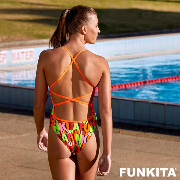 FUNKITA SWIM GIRL SWIM STRAPPED Купальник для бассейна