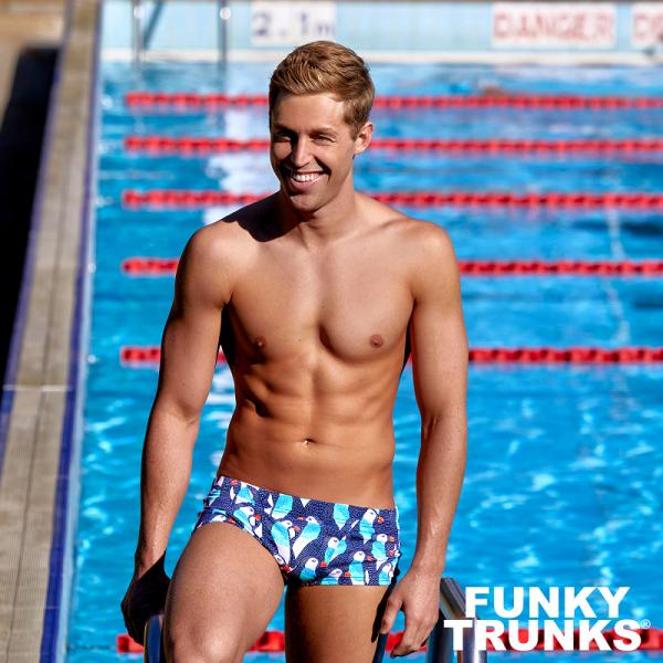 FUNKY TRUNKS PENGOO PARADE Плавки для бассейна