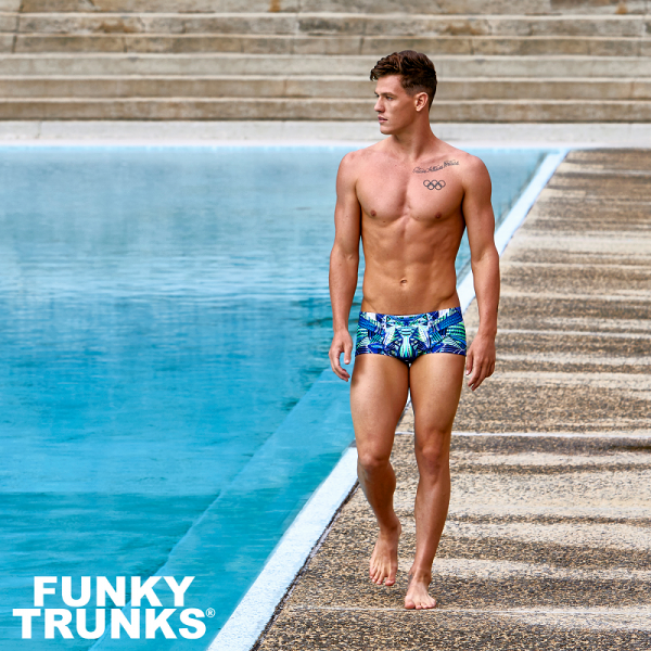 FUNKY TRUNKS SEA WOLF Плавки для бассейна