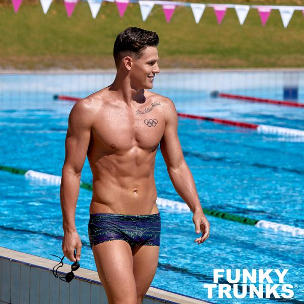 FUNKY TRUNKS SOUND SYSTEM Плавки для бассейна