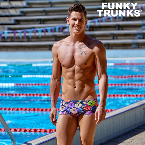 FUNKY TRUNKS DUNKING DONUTS Плавки для бассейна