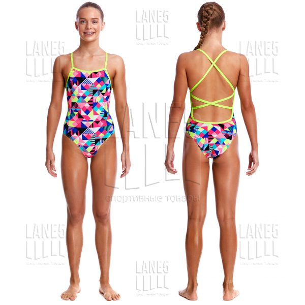 FUNKITA PURPLE PATCH Купальник для бассейна