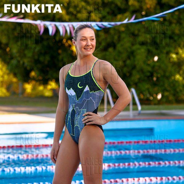 FUNKITA MOONLIGHTING Купальник для бассейна спортивный