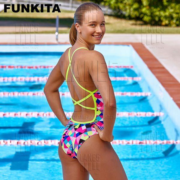 FUNKITA PURPLE PATCH Купальник для бассейна