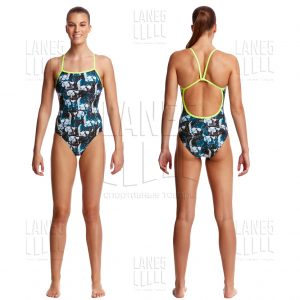 FUNKITA Bone Head Купальник для бассейна