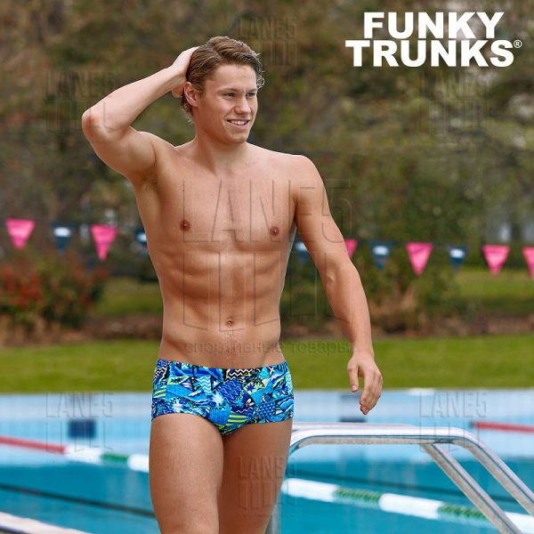 FUNKY TRUNKS Rock Steady Плавки для бассейна