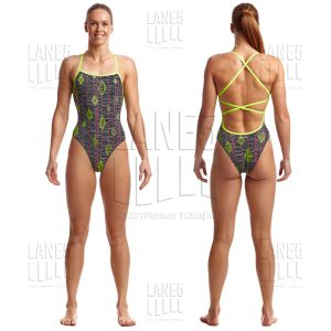 FUNKITA KITE RUNNER Strapped Купальник для бассейна