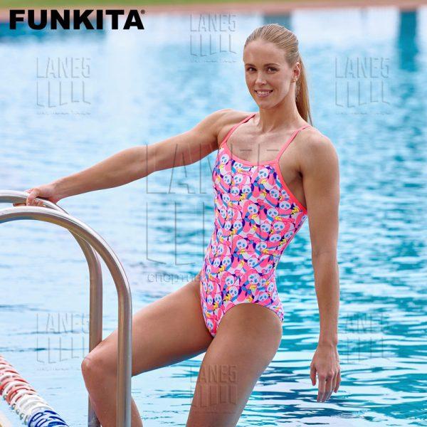 FUNKITA PINK PANDA ECO Купальник для бассейна
