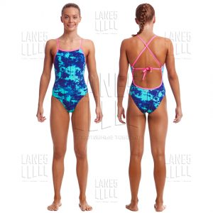 FUNKITA Hawaiian Skies Tie Me Tight Купальник детский