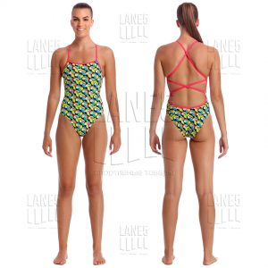 FUNKITA Toucan Do It Strapped Купальник для бассейна