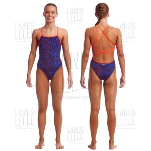 FUNKITA Hugo Wave Strapped Купальник для бассейна