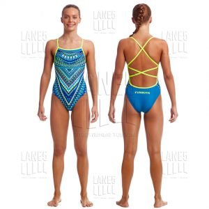 FUNKITA Ice Queen Strapped Купальник для бассейна