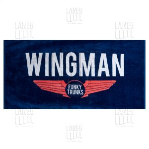 FUNKY TRUNKS Navy Wingman Полотенце