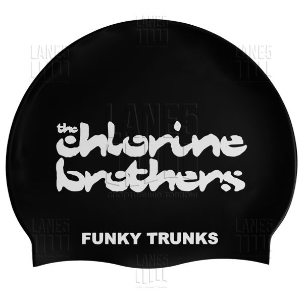 FUNKY TRUNKS The Chlorine Brothers Шапочка для плавания