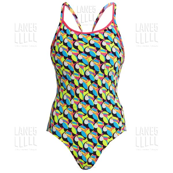 FUNKITA Toucan Do It Eco Купальник для бассейна